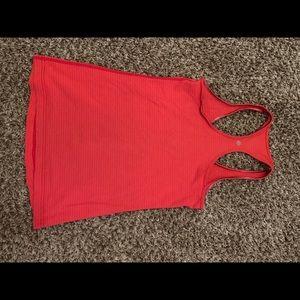Lululemon racerback tank top shirt size 8 medium